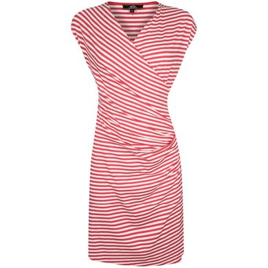 HV Polo Society Dress Eliza Hibiscus White L