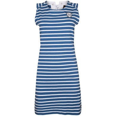 HV Polo Society Dress Simona Ink Blue L