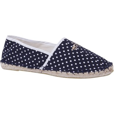 HV Polo Society Espadrille Dot Navy-White 37