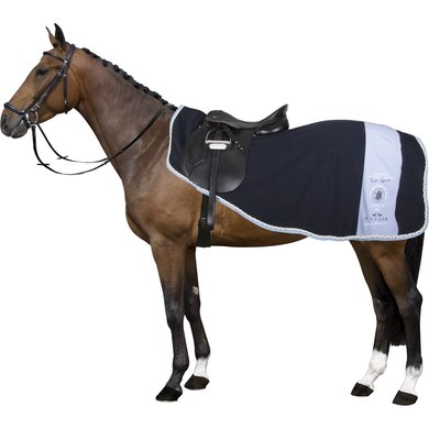 HV Polo Trainingsdeken fleece Raven Navy S