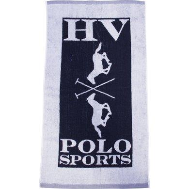 HV Polo Society Handtowel Logo Navy 85X48