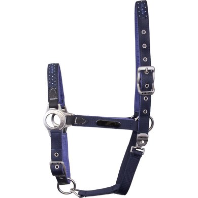 HV Polo Headcollar Gonia Navy C/S