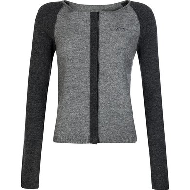 HV Polo Society Cardigan Lundar Grey -Graphite S