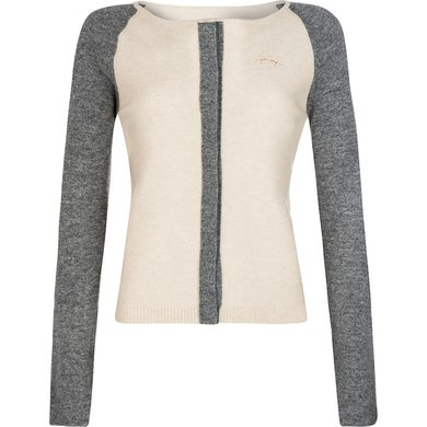 HV Polo Society Cardigan Lundar Sand-Grey melange M