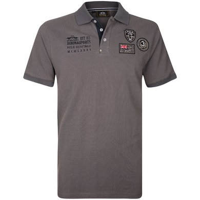 HV Polo Society Polo Haven Charcoal S