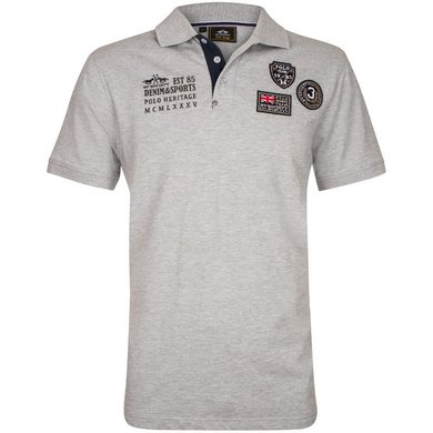 HV Polo Society Polo Haven Silvergrey Melange XL