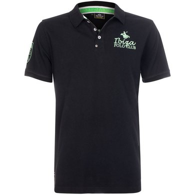HV Polo Polo Shirt Antonio M Black XS