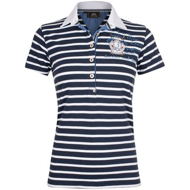 HV Polo Society Polo Shirt Arlene Navy L