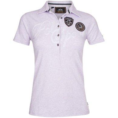 HV Polo Polo Shirt Azura Jacaranda Melange M
