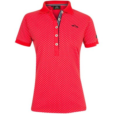 HV Polo Society Polo Shirt Barisa Hibiscus L