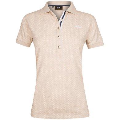 HV Polo Polo Shirt Barisa Sand Melange XL