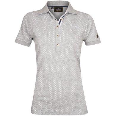 HV Polo Polo Shirt Barisa Silvergrey Melange XS