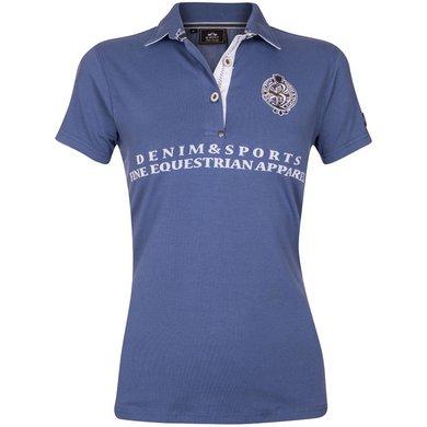 HV Polo Polo Shirt Becca Ink Blue XS