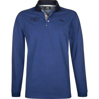 HV Polo Society Poloshirt Davidson Indigo XXL