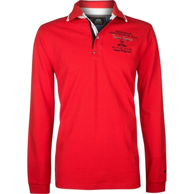HV Polo Society Poloshirt Eston Bright Red M