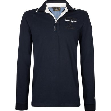 HV Polo Society Poloshirt Eston Navy M