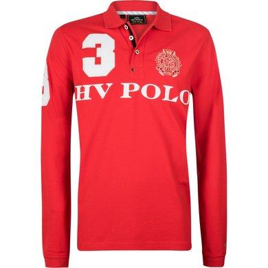 HV Polo Polo Favouritas M EQ LS Bright Red L