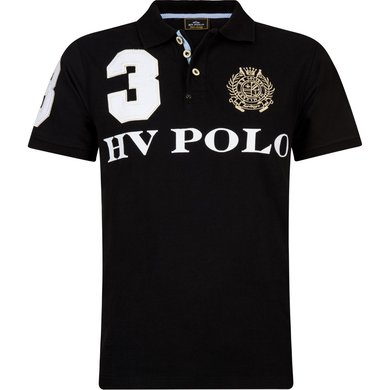 HV Polo Polo Favouritas M EQ SS Black S