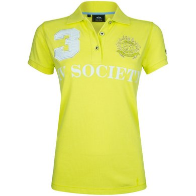 HV Polo Society Polo Favouritas F SS Lime M