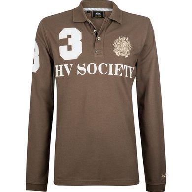 HV Polo Society Polo Favouritas M F LS Teak XXXL