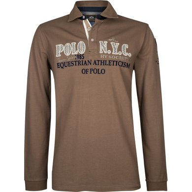 HV Polo Society Poloshirt Fillmore Teak L