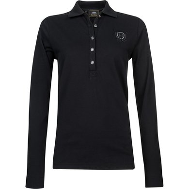 HV Polo Society Poloshirt Idette Black L