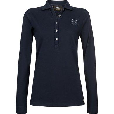 HV Polo Society Poloshirt Idette Navy L