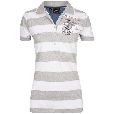 HV Polo Society Polo Shirt Jamila Silvergrey Melange L