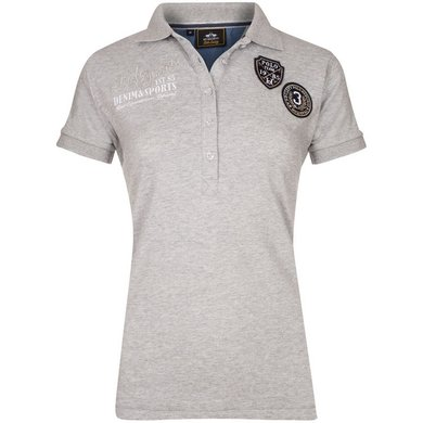 HV Polo Polo Shirt Mavis Silvergrey Melange M