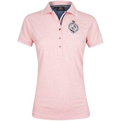 HV Polo Society Polo Shirt Parker Blush melange L