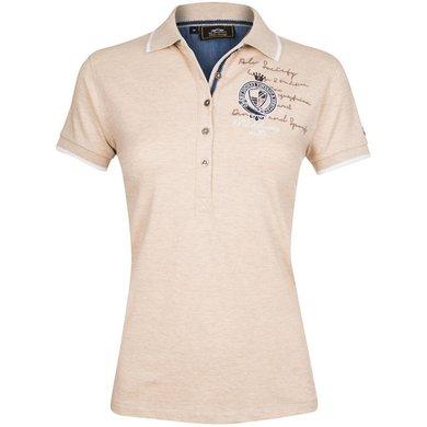 HV Polo Society Polo Shirt Parker Sand Melange XXL