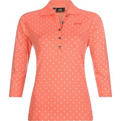 HV Polo Society Poloshirt Primrose Rouge L