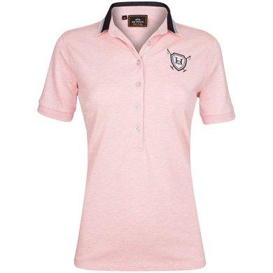 HV Polo Society Polo Shirt Vanora Blush melange L