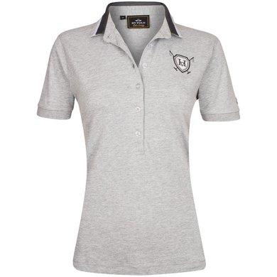 HV Polo Society Polo Shirt Vanora Silvergrey Melange L