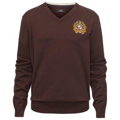 HV Polo Society Pullover Felo H Coffee XXXL