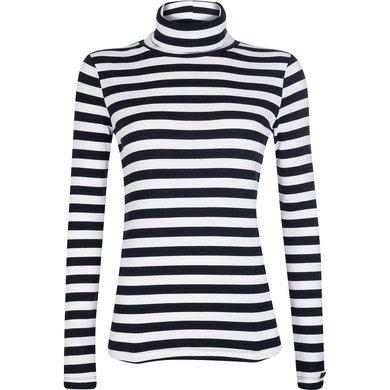 HV Polo Society Pullover Rosemary Navy-Offwhite XS