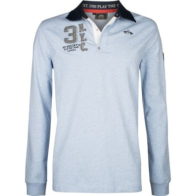 HV Polo Society Rugbyshirt Tomkins Air melange M