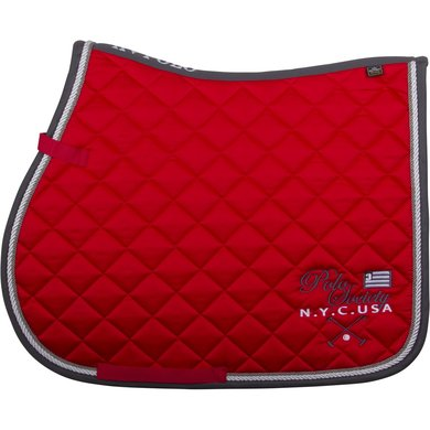 HV Polo Zadeldekje Alder GP Bright Red F/S