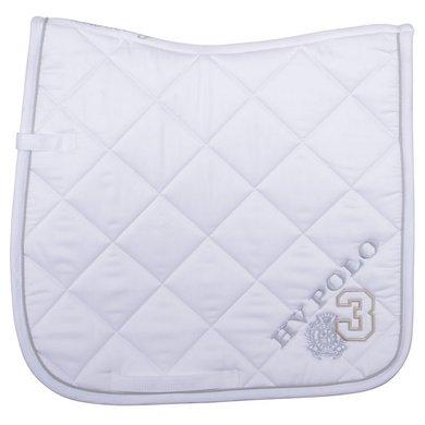 HV Polo Saddlepad Favouritas DR Optical White Full