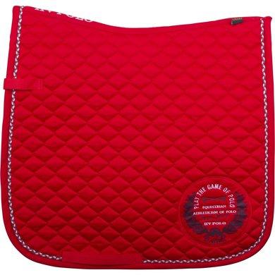 HV Polo Zadeldekje Inglis DR Bright Red F/S