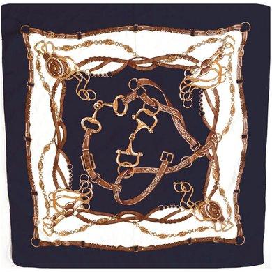 HV Polo Society Sjaal Vanessa Navy 90X90
