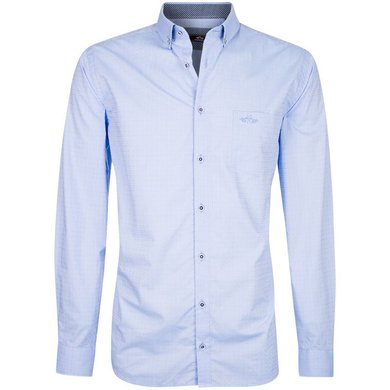 HV Polo Society Shirt Nathan Blue S