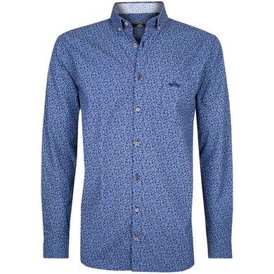 HV Polo Society Shirt Oliver Navy-White XL