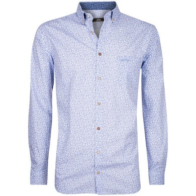 HV Polo Society Shirt Oliver White-Ink Blue M