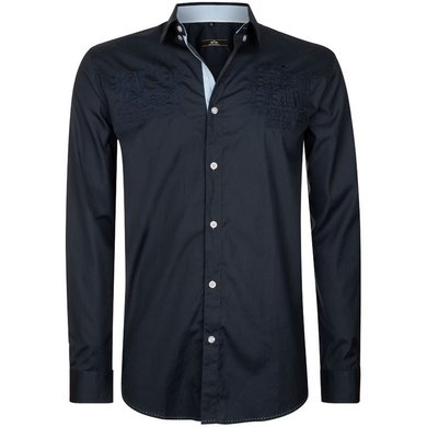 HV Polo Society Shirt Oscar Navy L