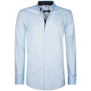 HV Polo Society Shirt Oscar Soft Blue L