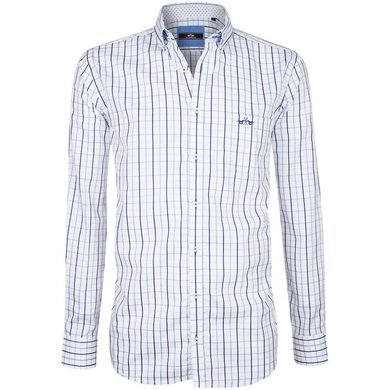 HV Polo Society Shirt Tymen Blue-White XXXL