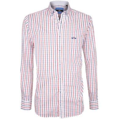 HV Polo Society Shirt Tymen Hibiscus White XXL