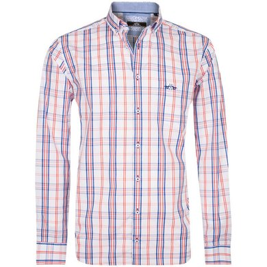 HV Polo Society Shirt Vince Hibiscus Blue L