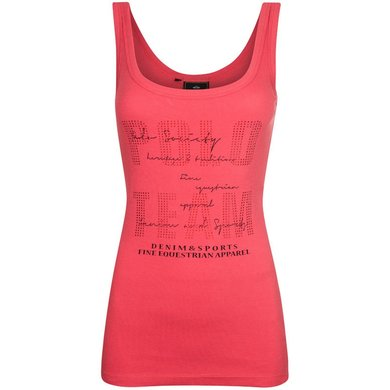 HV Polo Singlet Nora Hibiscus M